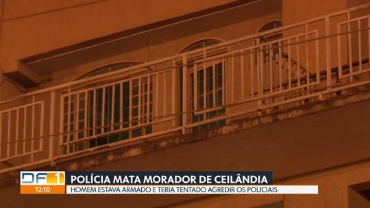 Polícia civil mata homem em casa em Ceilândia