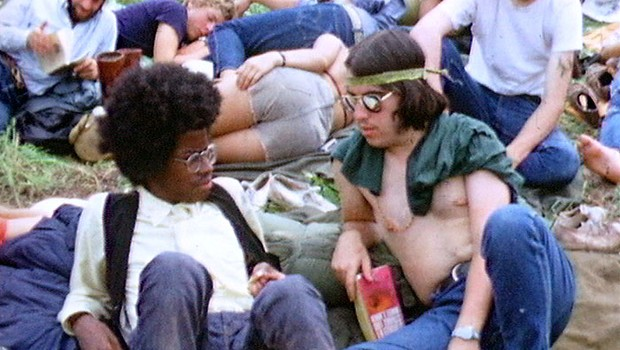 Woodstock, festival que marcou o movimento hippie (Foto: Getty Images)