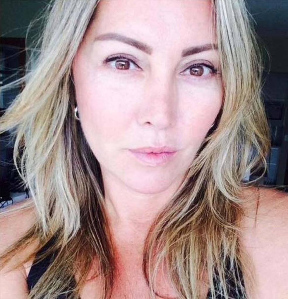 Elaine Caparroz foi agredida durante quatro horas em seu apartamento no Rio — Foto: Reprodução