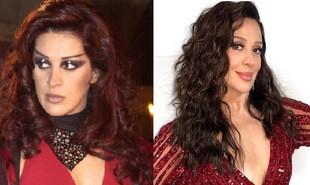 'O beijo do vampiro' voltará ao ar no Viva em fevereiro de 2022. Claudia Raia foi a vampira Mina, grande companheira de Bóris (Tarcísio Meira). A atriz está escalada para a trama das 18h 'Além da ilusão' | Globo e reprodução