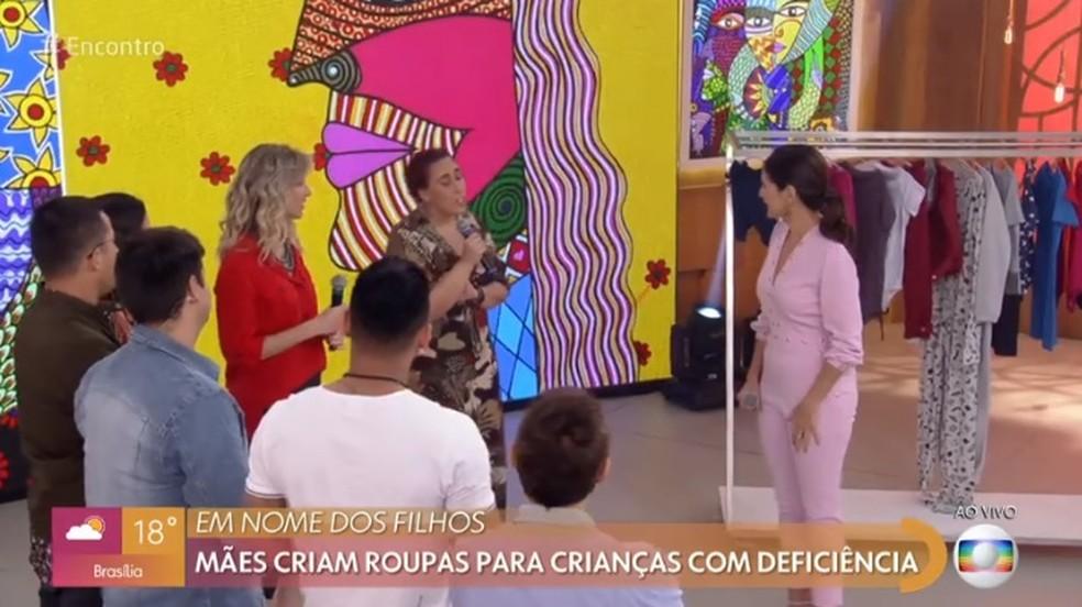 Moda para crianças com deficiência — Foto: Globo