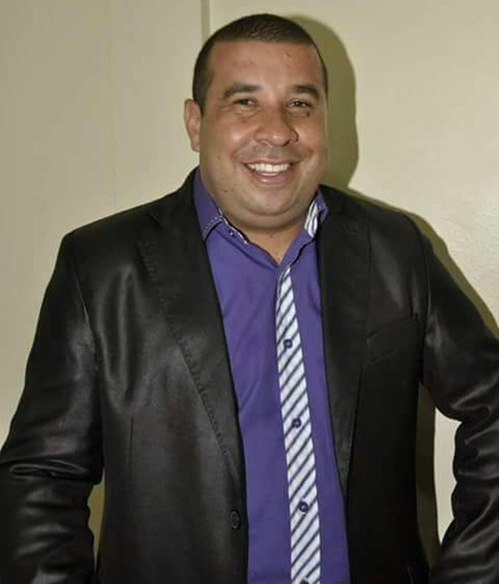 Alexandre Geraldo dos Anjos, pastor da Assembleia de Deus, está desaparecido desde segunda-feira (26) (Foto: Arquivo Pessoal )