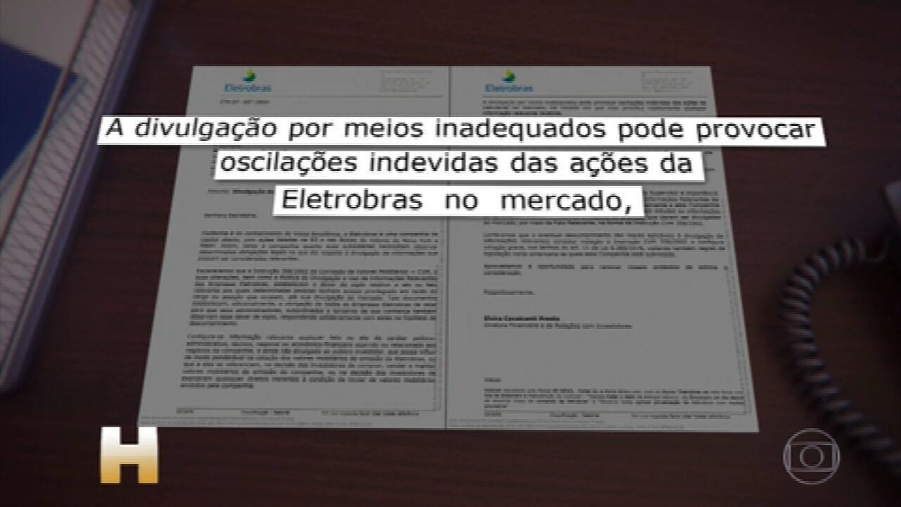 Diretora da Eletrobras pede para o governo explicar fala de Bolsonaro sobre interferir no setor elétrico