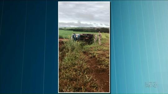 Caminhoneiro morre em acidente entre Paraíso do Norte e São Carlos do Ivaí