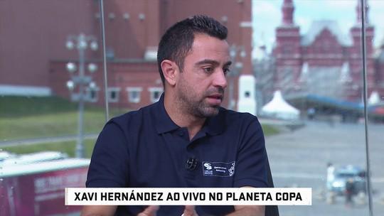 """Xavi critica Lopetegui: """"Não pode estar em dois lugares ao mesmo tempo"""""""