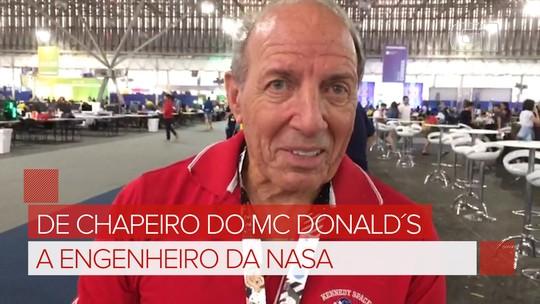 Ex-chapeiro do McDonald's conta como virou engenheiro da Nasa: 'faça seu melhor e acredite em você'