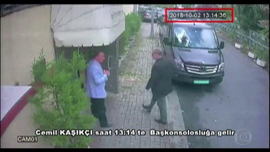 Diretora da CIA escuta áudio de assassinato de jornalista dentro de consulado