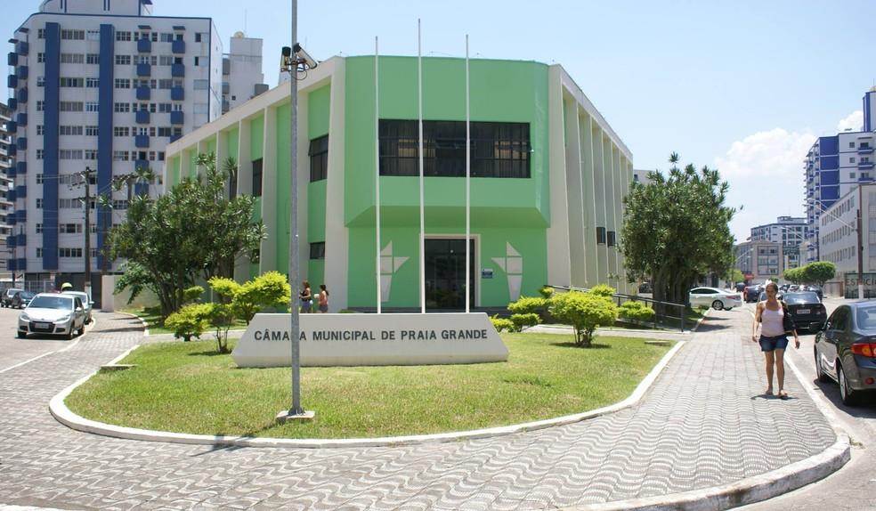 Atestado garantiu dez dias de afastamento a vereador (Foto: Divulgação/Câmara de Praia Grande)
