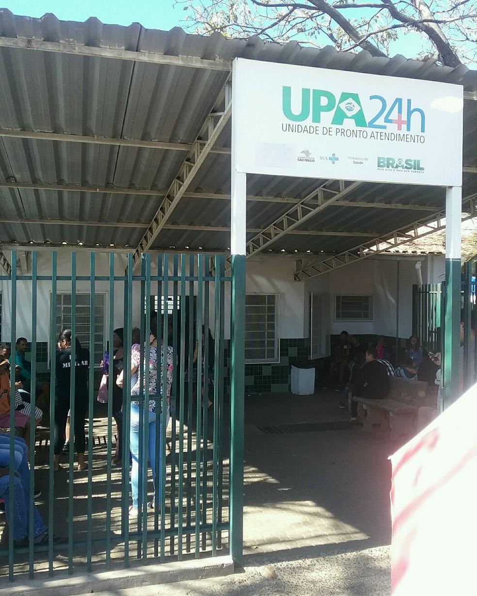 Relatório do TCE indica falta de atendimento organizado na UPA São José, em Campinas (SP) — Foto: TCE/Divulgação