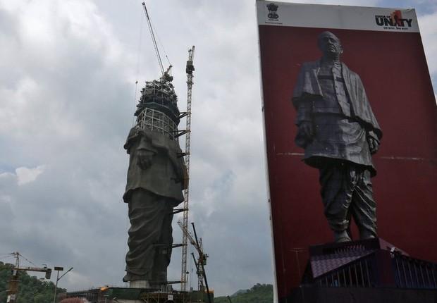 Sardar Patel é reverenciado por muitos nacionalistas hindus (Foto: AFP via BBC)