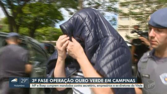 Operação Ouro Verde cumpre mandados de prisão e  apreensão na região de Campinas; secretário é exonerado e preso