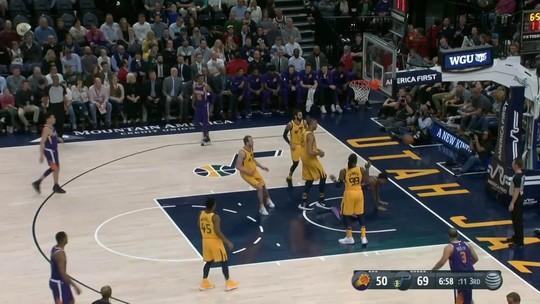 Melhores Momentos: Jazz 116 x 88 Suns pela NBA