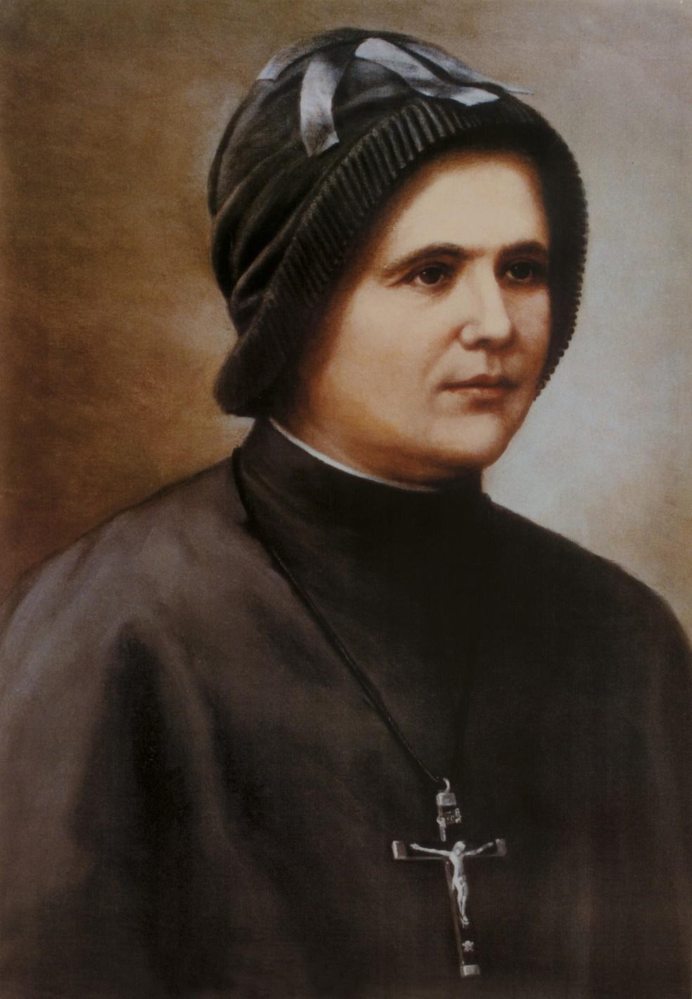 Madre Clélia Merloni, fundadora do Instituto das Apóstolas do Sagrado Coração de Jesus (Foto: Divulgação/ Instituto das Apóstolas do Sagrado Coração de Jesus)