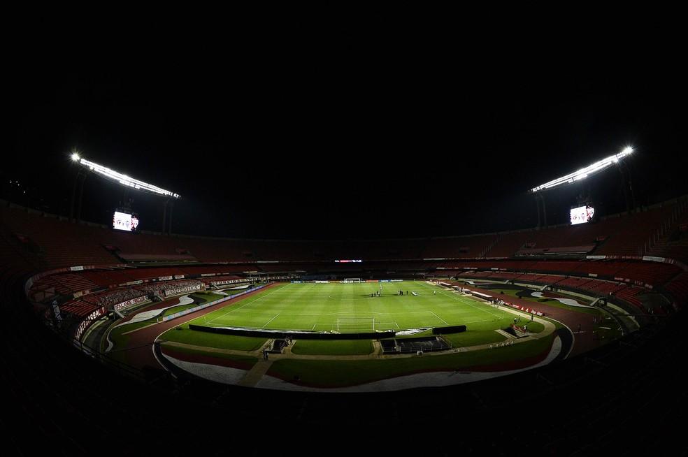 Morumbi vai receber São Paulo x Grêmio — Foto: Marcos Ribolli