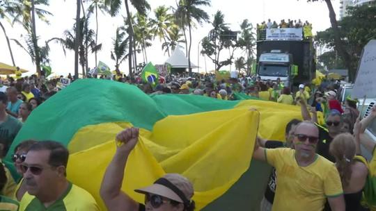 Protestos contra decisão do STF sobre prisão em segunda instância ocorrem pelo país