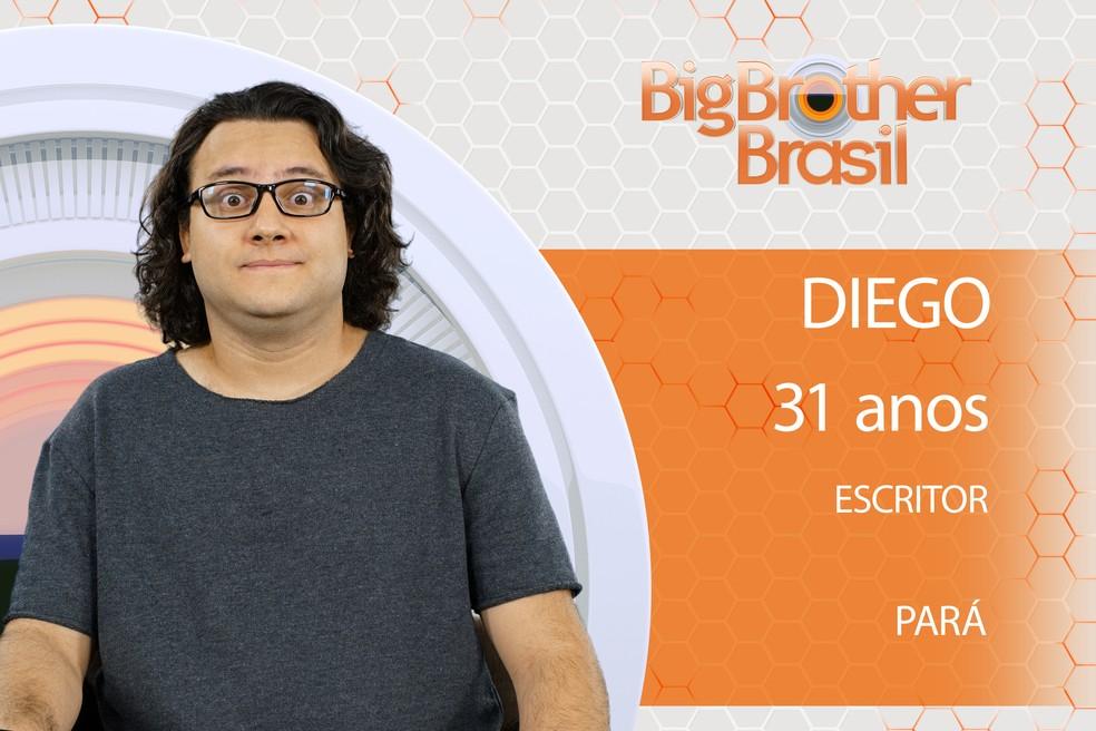 Diego é participante do BBB18 (Foto: TV Globo)