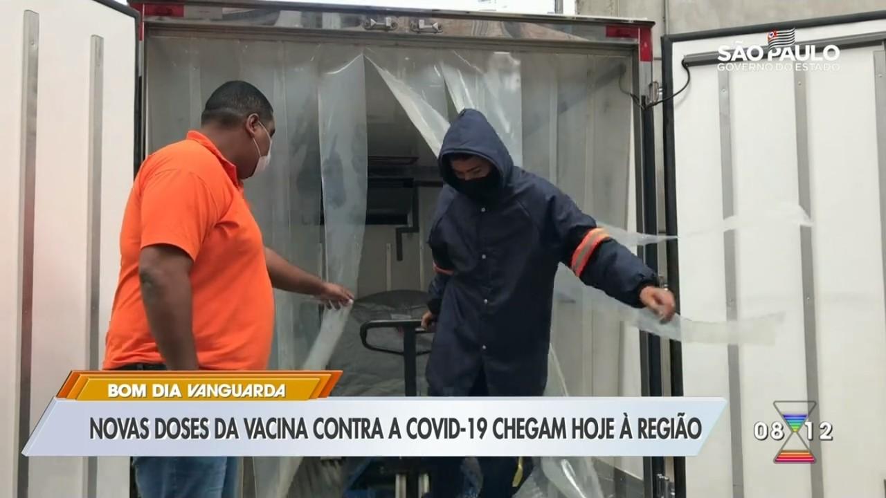 Vale do Paraíba vai receber 26,1 mil doses da vacina da Fiocruz