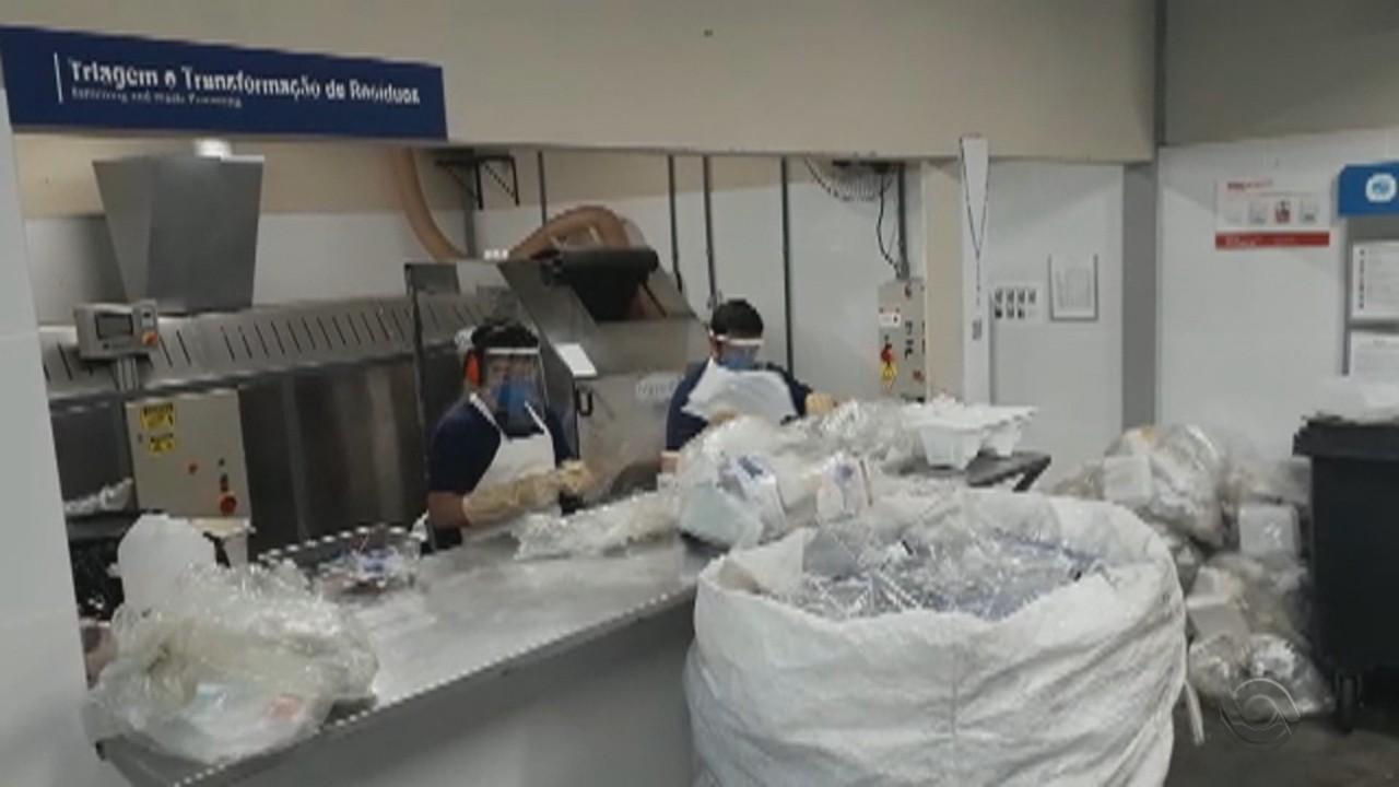 Entenda como é feito o processo de tratamento do lixo hospitalar na Capital