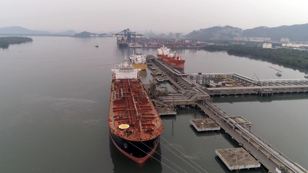Porto de Santos opera 13,5 milhões de toneladas em julho e bate recorde pelo 6º mês seguido
