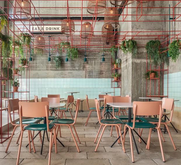 5 dicas de decoração deste restaurante para aplicar em casa (Foto:  IDO ADAN / DIVULGAÇÃO)