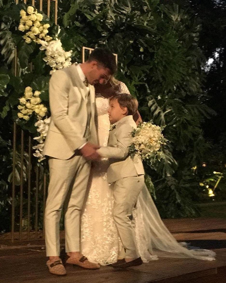 Carol Dantas se casa com Vinicius Martinez (Foto: Reprodução/Instagram)