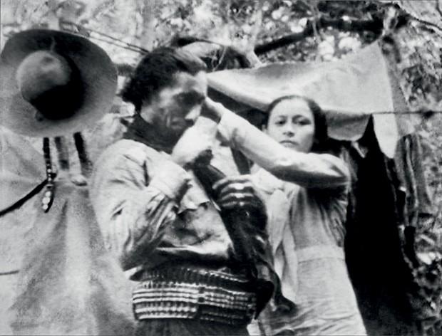 Maria Bonita - Com o marido, Lampião (Foto: Divulgação)