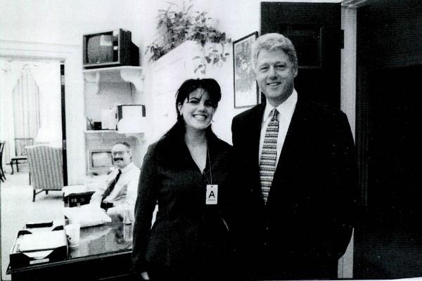 Monica Lewinsky e Bill Clinton (Foto: Getty Images)