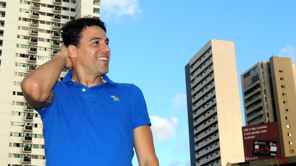 Ex-goleiro reserva do São Paulo, Bosco é agente de jogadores atualmente — Foto: Lucas Liausu