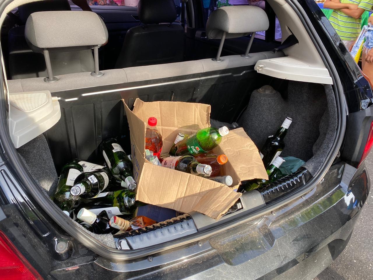 Homem é preso em flagrante suspeito de falsificar bebidas alcoólicas em bloco de carnaval no Piauí