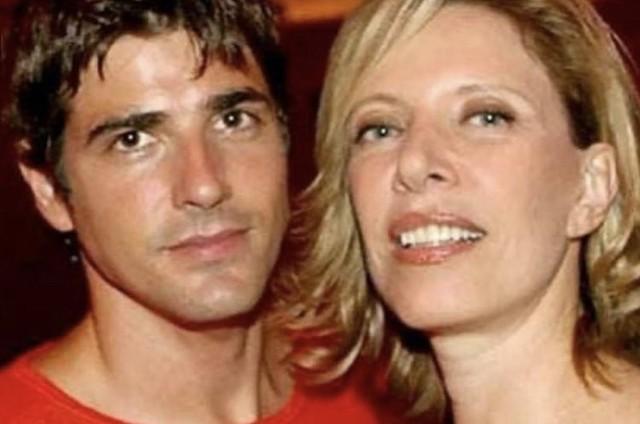 Reynaldo Gianecchini e Marília Gabriela (Foto: Reprodução/Instagram)