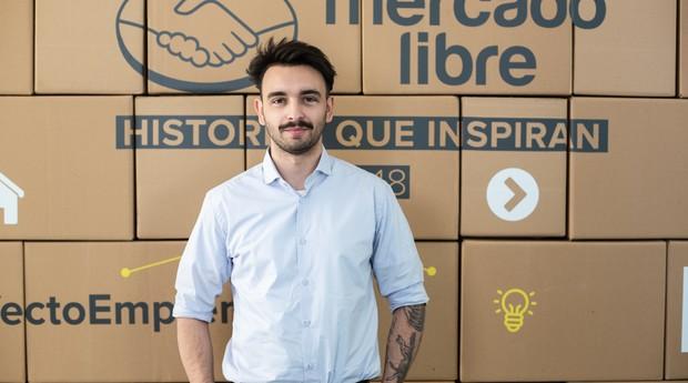 Valentino Romano: argentino também venceu prêmio do MercadoLivre (Foto: Divulgação)