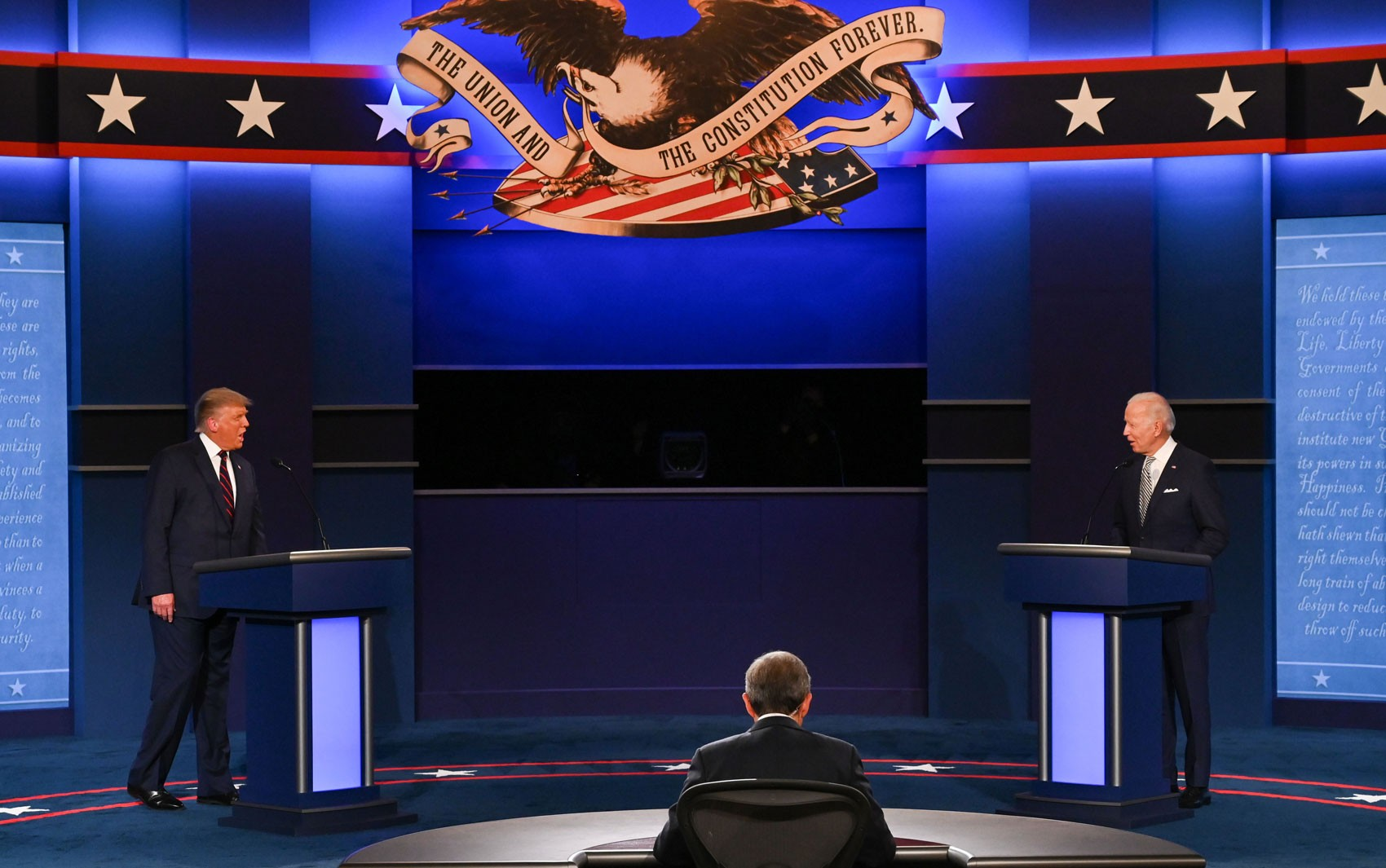 Eleições nos EUA: Quem ganhou o debate entre Trump e Biden?