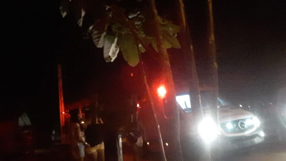 Crime aconteceu no setor Lago Azul 4, em Araguaína — Foto: Divulgação