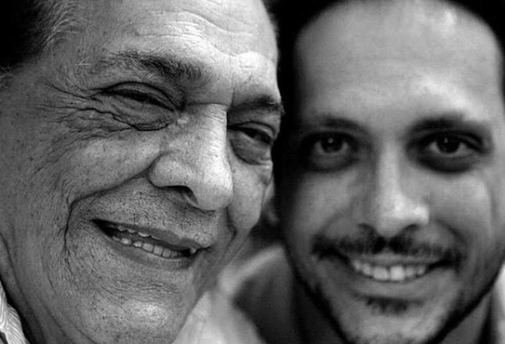 Lucio Mauro morreu aos 92 anos, no Rio de Janeiro — Foto: Reprodução/Instagram