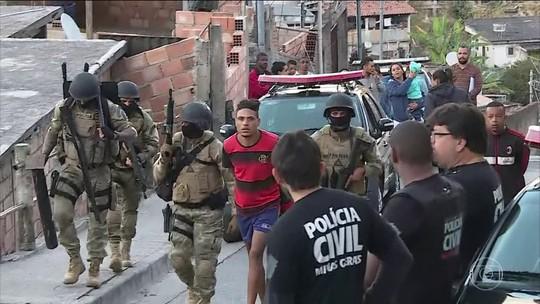 Polícia prende sete pessoas por tráfico de drogas e venda de armas em Belo Horizonte
