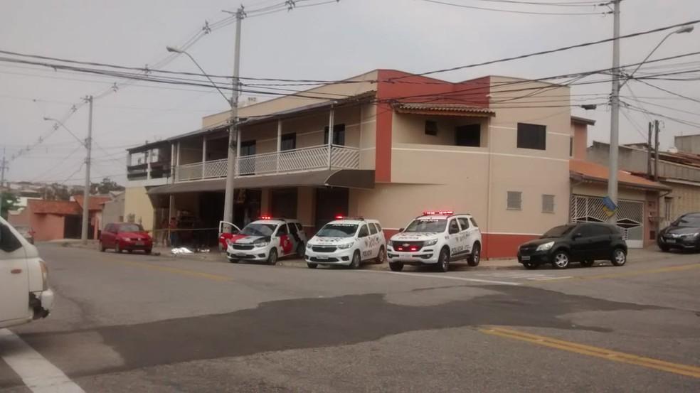 Dono de loja reage assalto e mata três bandidos a tiros no Jardim São Guilherme, em Sorocaba  — Foto: Arquivo Pessoal