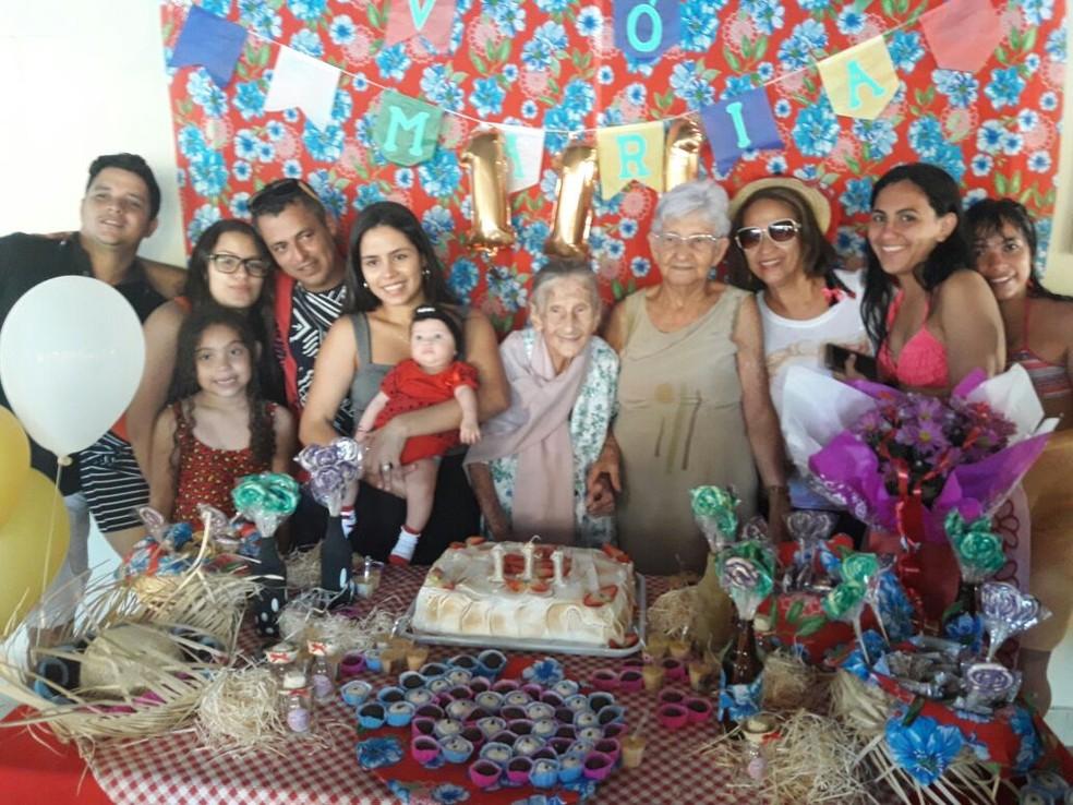 Ela ganhou festa de aniversário surpresa (Foto: Arquivo pessoal)