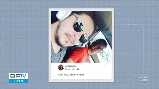 Cantor e pai ficam feridos após carro onde estavam cair de barranco em rodovia da Bahia