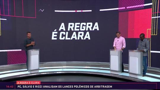 Erros de Klaus contra o Botafogo são destaques do quadro A Regra É Clara no Seleção SporTV