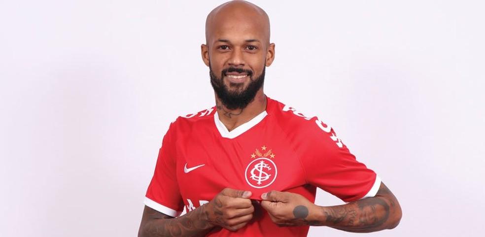Inter anuncia Bruno Silva — Foto: SC Internacional/Divulgação