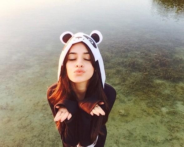 Camila com roupa de panda (Foto: Reprodução/Instagram)