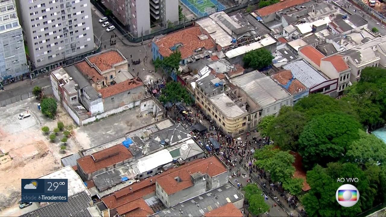 Justiça proíbe demolições na Cracolândia, no centro de São Paulo