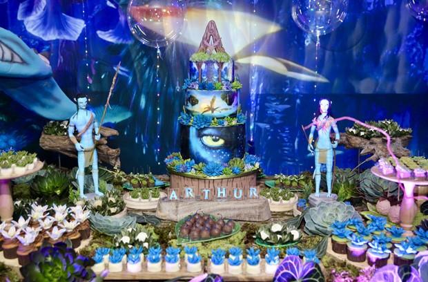Detalhes da festa de 7 anos de Arthur, filho de Eliana (Foto: Manuela Scarpa/Brazil News)