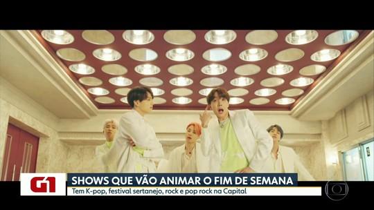 BTS, festival sertanejo, Slash e Raimundos estão na agenda de shows em São Paulo
