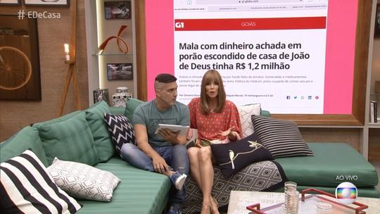 Ana Furtado comenta caso João de Deus: 'É muita decepção'