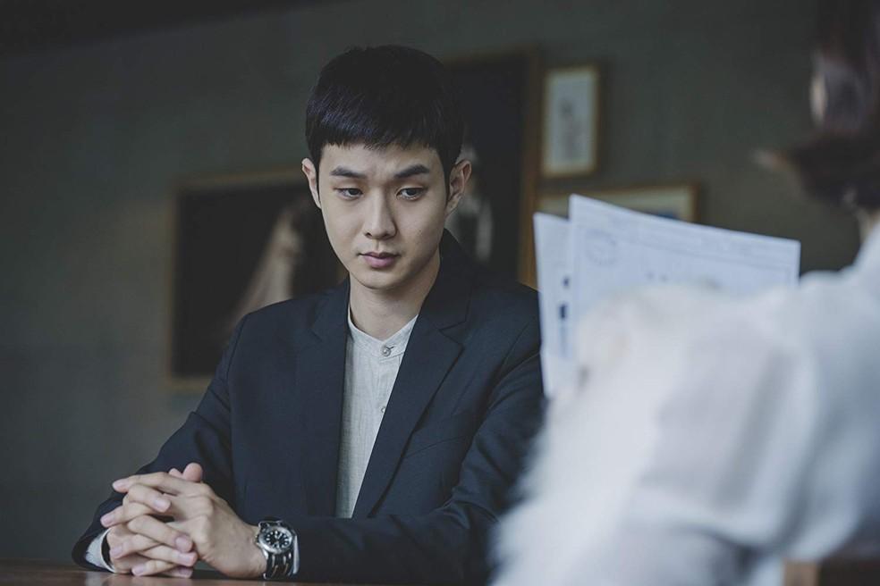 Woo-sik Choi  em 'Parasite' — Foto: Divulgação