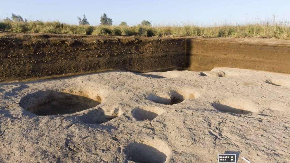 Escavação no Egito encontra vilarejo de 7 mil anos (Foto: Egyptian Ministry of Antiquities)