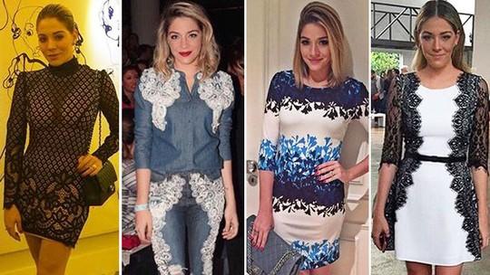 Luma Costa fala sobre estilo: 'Me visto com o que gosto e não porque está na moda'; Veja looks!