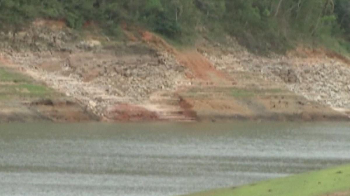 Pescadores acumulam prejuízo com nível baixo da Represa do Jaguari em Santa Isabel