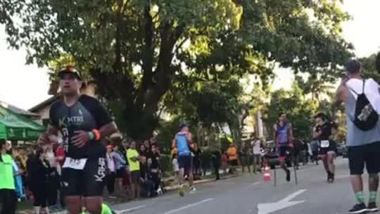 """Rigueira disputa IronMan sem uma perna e parte do pulmão: """"Dificuldade nunca será o limite"""""""